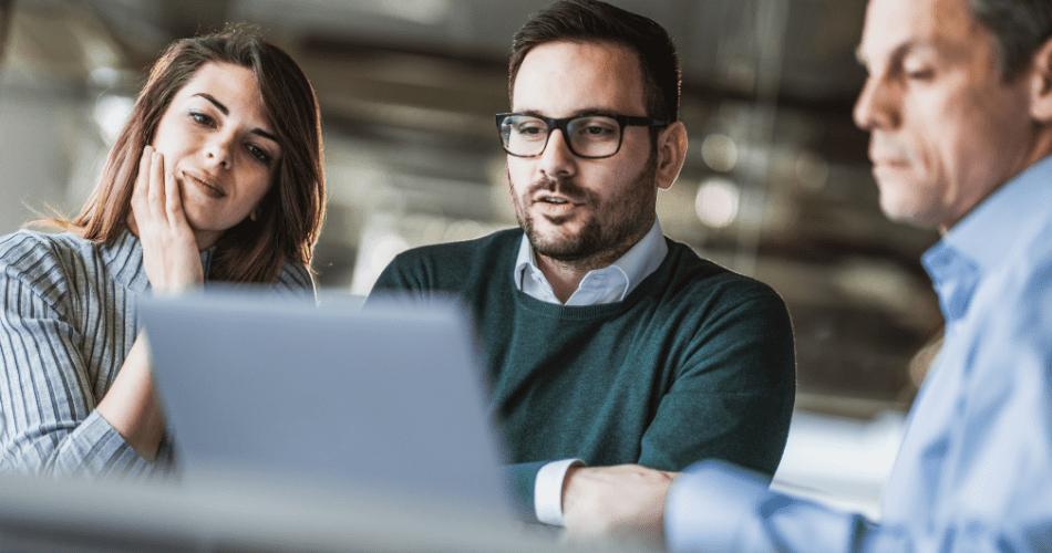 socios de negocio reciben apoyo virtual para pyme